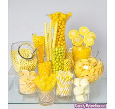 Yellow & White Swirl 1.5-Ounce Whirly Pops: 24-Piece Display