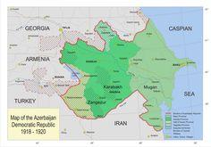 AZERBAIJAN [1918 -1920] Azerbaijan Democratic Republic 1918-20