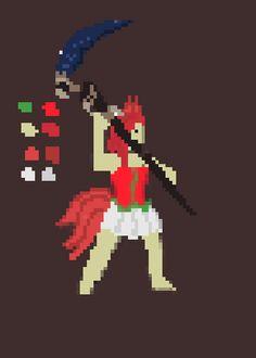 My first attempt at pixel art :D