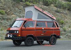 This 1986 Vanagon Syncro Giraffe is a beauty Vw Bus, Vw T3 Camper, T3 Vw, Off Road Camper, Camper Life, Volkswagen Westfalia, Vw Vanagon, Volkswagen Golf, T6 California Beach
