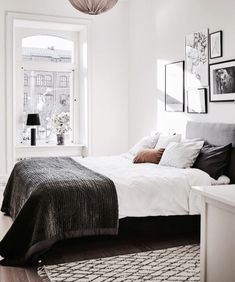 7 Effortless Cool Tips: Minimalist Bedroom Beige Headboards rustic minimalist home beams.Minimalist Bedroom Lighting Lamps warm minimalist home window.Minimalist Interior Home Bedroom. Scandinavian Bedroom Decor, Scandinavian Interior Design, Scandinavian Style, Minimalist Scandinavian, Scandinavian Windows, Industrial Scandinavian, Swedish Style, Minimalist Bedroom, Minimalist Home