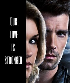 """ ""I'll always love you, Parker"" Haven "" Haven Cast, Audrey Parker, Lucas Bryant, Ill Always Love You, Series Movies, Tv Series, Movie Couples, Strong Love, Black And Grey Tattoos"