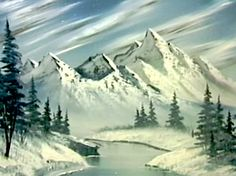 All the colors needed to do the painting 'Snow Fall' from 'The Joy of Painting' with Bob Ross. Bob Ross Painting Videos, Bob Ross Paintings, The Joy Of Painting, Painting Snow, Peintures Bob Ross, Bob Ross Birthday, Bob Ross Youtube, Robert Ross, Bob Ross Quotes