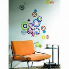50 x 70cm Wall Decal with Glue Water