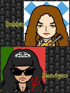 Debbie + Monique
