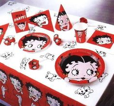 betty boop party theme decorations | adore Betty Boop, therefore, this would make a wonderful party theme ...