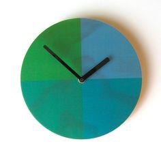 Objectify Quarters Wall Clock  Medium Size by ObjectifyHomeware, $32.00