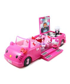take a look at the hello kitty dance party limousine on zulily today