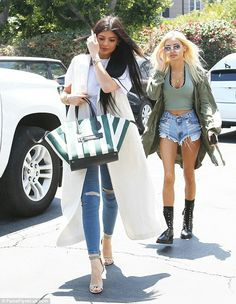 Kylie Jenner in West Hollywood June 15 2015