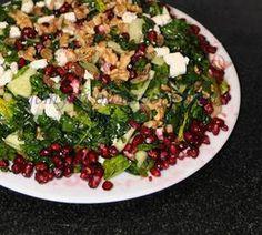 narlı  ıspanak salatası