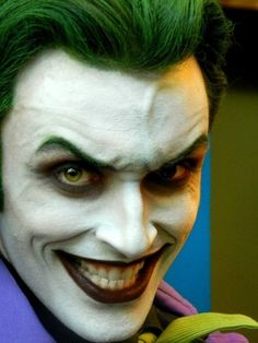 Anthony Misiano as the Joker! O Joker, Joker Art, Joker And Harley Quinn, Joker Cosplay, Best Cosplay, Anthony Misiano, Personnage Dc Comics, Batman Halloween, In The Pale Moonlight
