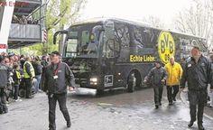 Explosión en el autobús del Borussia Dortmund