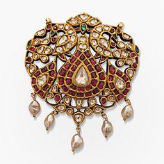 Gemset Pendant - south indian