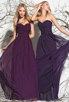 Brides: Impression Bridal. The Bridesmaid dress!! On the left.. and in gold!