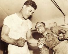 Joe Louis and Henry Armstrong
