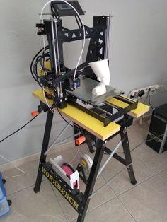 workbench 3d printer anetA8 Steel.