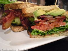 Friedmans lunch at Chelsea Market - the BLAT - my favorite sammy!