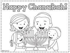 Chanukah Placemat FREEBIE