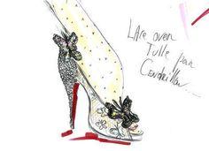 Louboutin dévoile ses escarpins de Cendrillon - L'EXPRESS