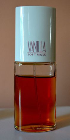 VANILLA SOFT MUSK by Avon Perfume Cologne Spray 1 Fl Oz 85% Full Unboxed Vintage #Avon