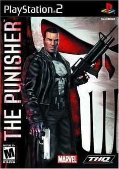 The Punisher PlayStation 2 Front Cover Punisher 2004, Punisher Marvel, Wolverine, Marvel Comics, Playstation 2, Xbox, Video Game Industry, Video Game News, Marvel Video Games