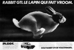 Golf rabbit GTI by DDB