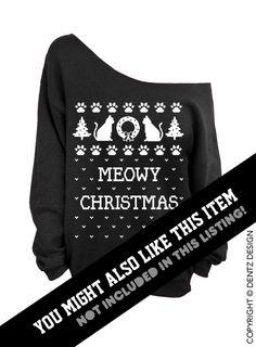 Merry Crustmas Sweatshirt, Ugly Christmas Sweatshirt, Pizza Christmas Sweatshirt, Off the Shoulder Christmas Sweatshirt, Slouchy Sweatshirt