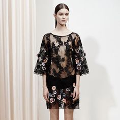 Raised florals from our #Resort16 collection. #SUNONY
