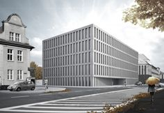 District court in Nysa : Pracownia Architektury Głowacki District Court, Skyscraper, Multi Story Building, Sad, Skyscrapers