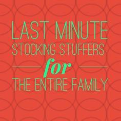 Fun stocking stuffer ideas