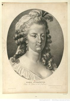 Marie Antoinette, reine de France et de Navarre : [estampe] / dessiné par Le Barbier l'aîné 1787 ; gravé par Cazenave