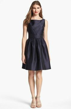 Professionelle: Sleeveless Fit-and-Flare Dress
