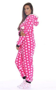 Womens Adult Pajamas, Just Love Adult Adult Pajamas, Onesie Pajamas, Pjs, Cosy Outfit, Bunny Outfit, Jumpsuits For Women, Lounge Wear, Winter Fashion, Onesies