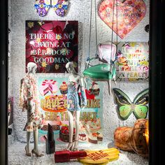 """BERGDORF GOODMAN, New York, """"Listen Cherie... There is no crying at Bergdorf Goodman"""", photo by Sam Theis, pinned by Ton van der Veer"""