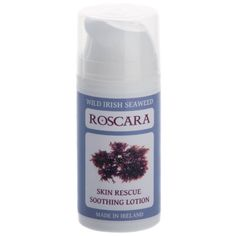 Roscara Skin Rescue Soothing Lotion Made with Organic Hand Harvested Wild Irish Seaweed. Safe for All The Family. Rosacea Causes, Eczema Causes, Acne Rosacea, Lotion, How To Reduce Pimples, Natural Cleaning Products, Natural Treatments, Fragrance, Top