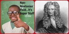 Non-Newtonian Fluid…It's Super Stuff ~ Science is for Kids