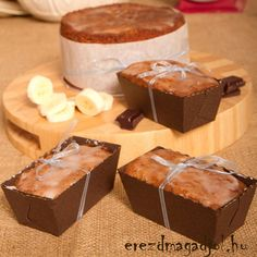 banan_kenyer_dietasan Hungarian Recipes, Muffin, Pudding, Tea, Breakfast, Fall, Diets, Morning Coffee, Autumn