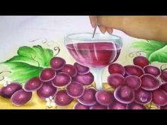 Transparência, Como pintar cálice com vinho, pintura em tecido - YouTube
