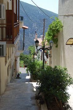 Delphi | Alley way, Delphi, Greece | Natalie | Flickr