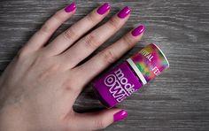 Models Own Purple Bandana Nail Polish Swatch