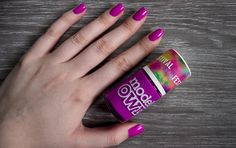 Models Own Purple Bandana Nail Polish Swatch