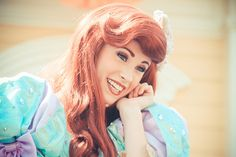 Ariel Face Character( her make up is perfect btw)