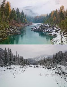 12/13/13.....................Hungry Horse News The Photo Newspaper of Glacier Park · about an hour ago   The Middle Fork of the Flathead in early November in West Glacier, the Middle Fork of the Flathead at the same location this week. They're calling for potentially more arctic air by Wednesday.