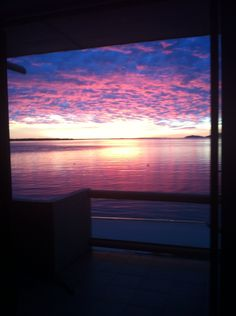 Photos do not do it justice! Gorgeous sunrise complete with dolphins! Overlooking the beach! Love it!