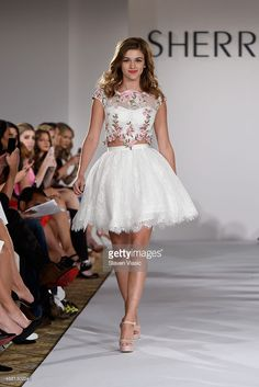 Model Sadie Robertson walks the runway at the Sherri Hill Spring 2016 fashion show during New York Fashion Week at The Plaza Hotel on September 13, 2015 in New York City.