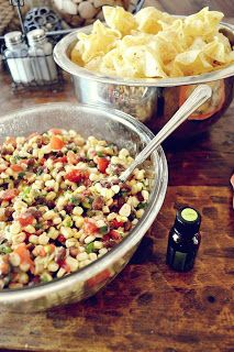 Babblings and More: Black Bean Salsa- DoTerra Essential Oils