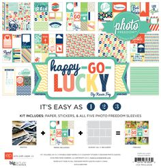CHA Winter 2013 Sneak: Happy Go Lucky Photo Freedom by Echo Park Paper