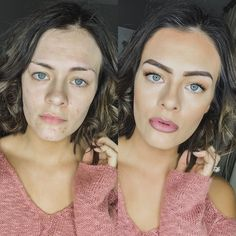 Motd Makeup Beforeandafter Face Glorious Touch Face