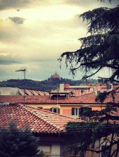 Bologna, uno sguardo sui tetti, foto di Elena Pitta