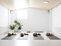 Yoga Fitness Studio Interior Design Laura Kern Design S Collection Of 40 Interior Ideas In 2020